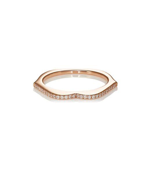 Raphaele Canot - White Omg! Thin Lips Ring Size 6.25 - Lyst
