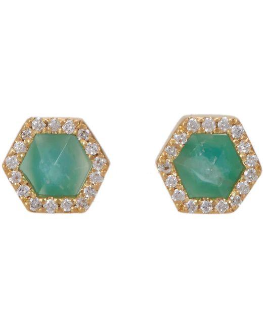Monique Péan | Multicolor Hexagonal Opalina Stud Earrings | Lyst
