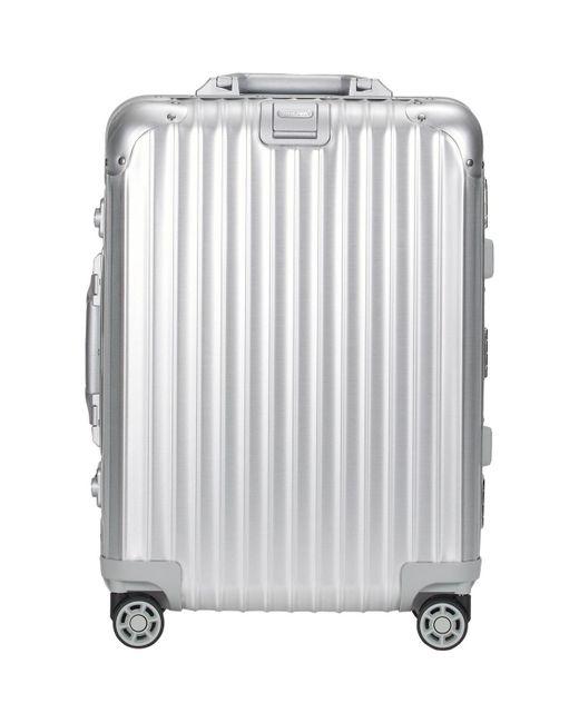 Rimowa | Metallic Topas 22 Cabin Multiwheel® Iata Trolley for Men | Lyst
