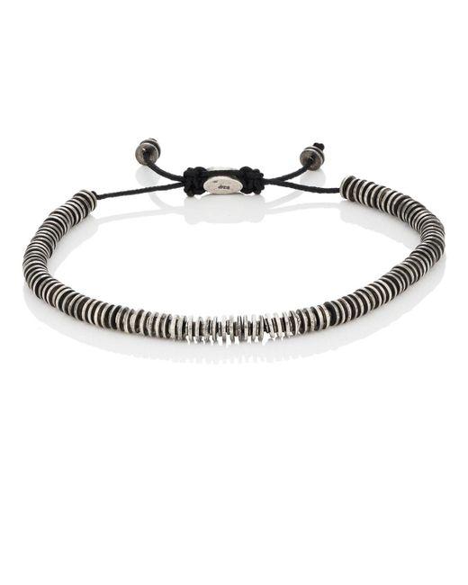 M. Cohen - Metallic Sterling Silver Rondelle Bracelet - Lyst