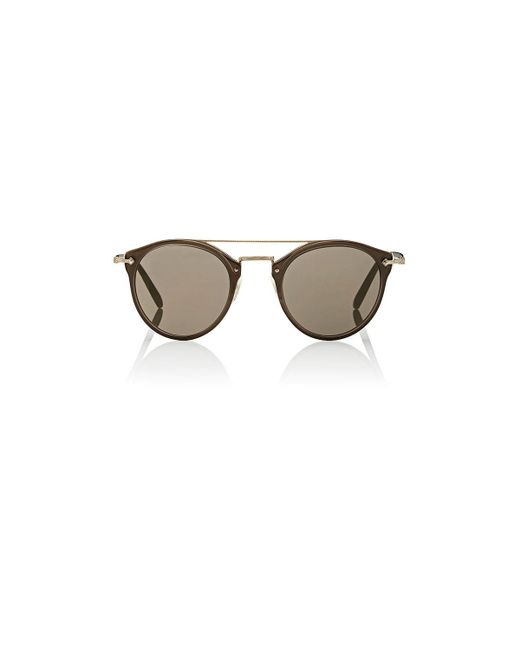 Oliver Peoples | Brown Remick Sunglasses | Lyst