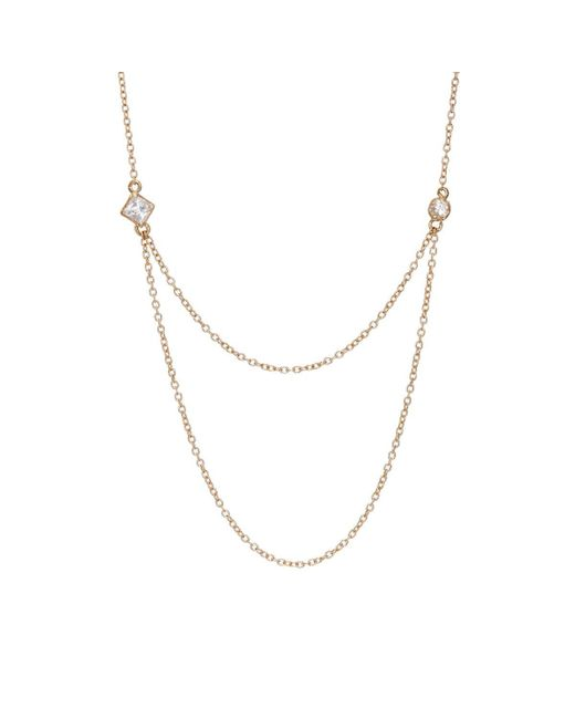Loren Stewart - Metallic Draper Necklace - Lyst