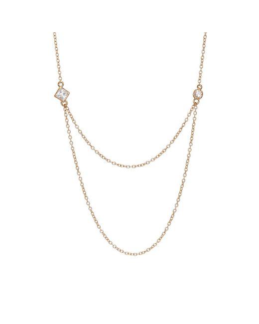 Loren Stewart | Metallic Draper Necklace | Lyst