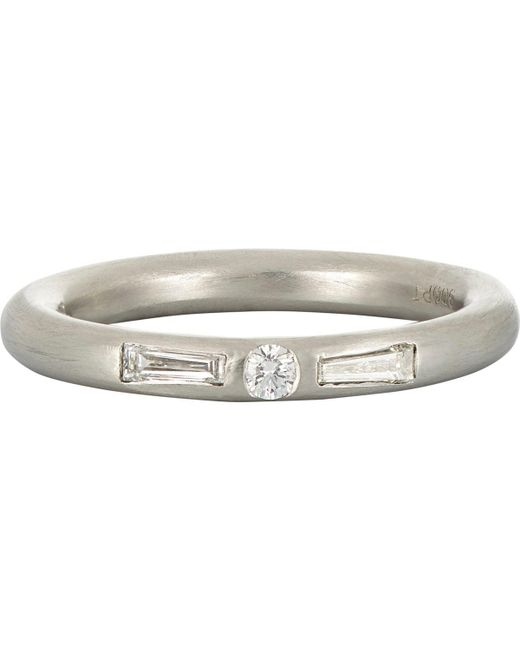 Cathy Waterman - Metallic Baguettes & Round Band - Lyst