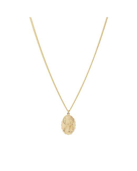 Miansai - Metallic Mini Saints Pendant Necklace for Men - Lyst