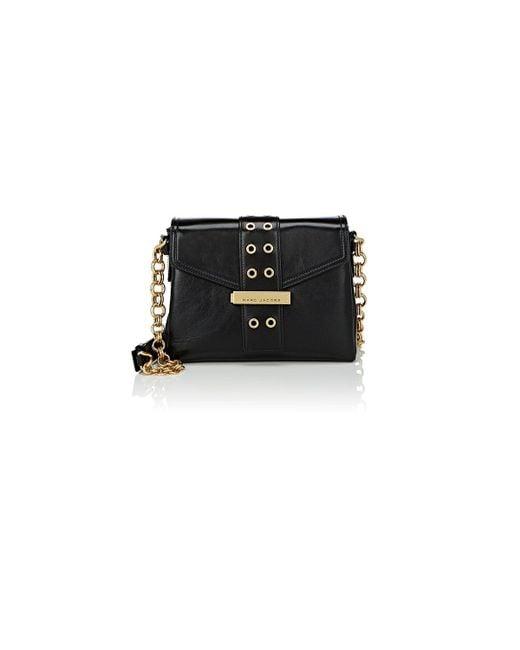 Marc Jacobs | Black Lock & Strap Shoulder Bag | Lyst