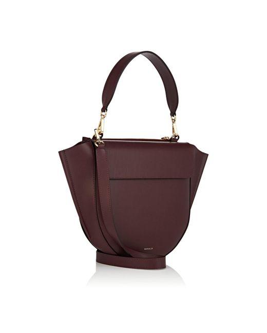 9dbc8132dc ... Wandler - Purple Hortensia Medium Leather Shoulder Bag - Lyst ...