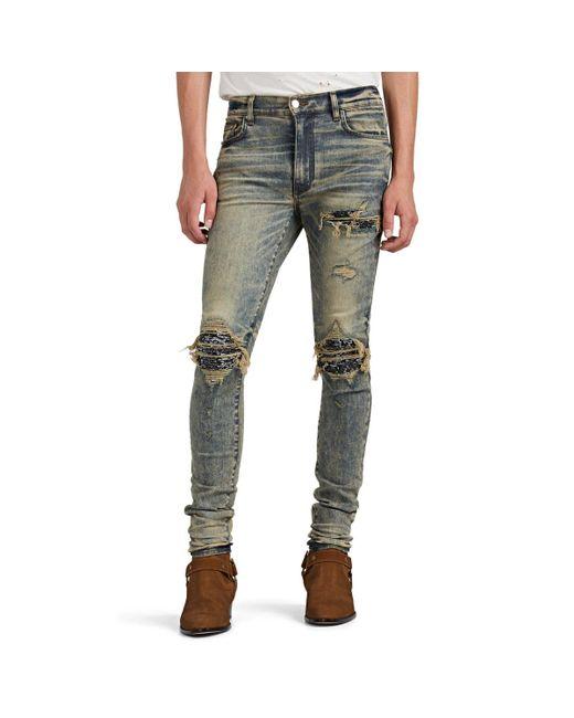 Amiri Blue Mx1 Slim Jeans for men