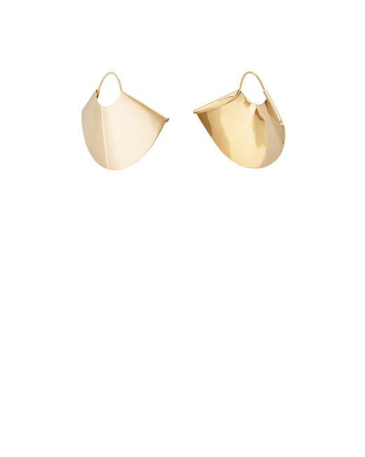 Kathleen Whitaker | Metallic Large Fan Earrings | Lyst