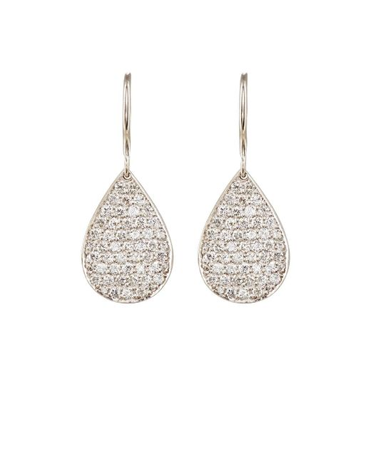 Irene Neuwirth | Metallic Pavé White Diamond Pear | Lyst