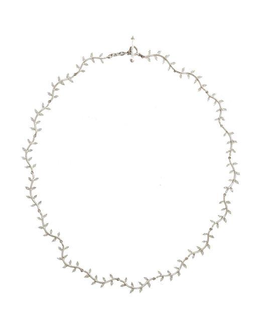 Cathy Waterman - Metallic Curvy Wheat Necklace - Lyst