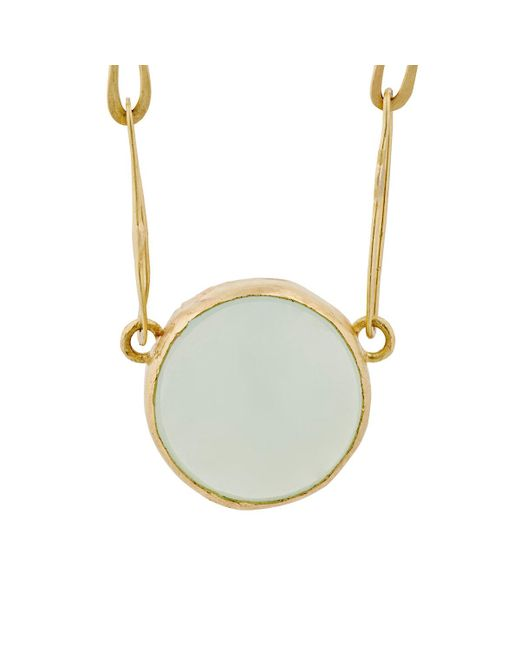 Judy Geib | Metallic Chalcedony Echo Necklace | Lyst