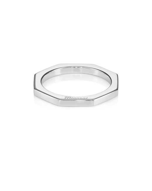 Miansai - Metallic Bly Ring - Lyst