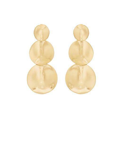 Agmes | Metallic Stella Earrings | Lyst