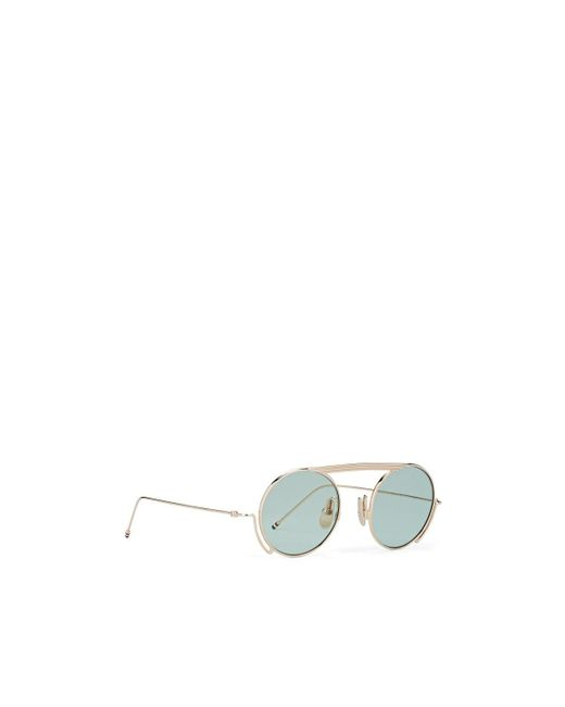 3aa16adbbd17 ... Thom Browne - Green Tb-111 Sunglasses for Men - Lyst ...