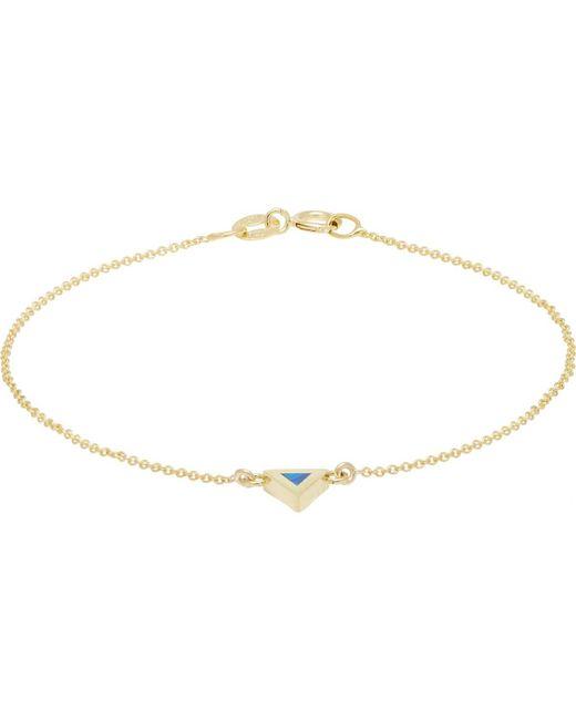 Jennifer Meyer - Metallic Opal Triangle Bracelet - Lyst