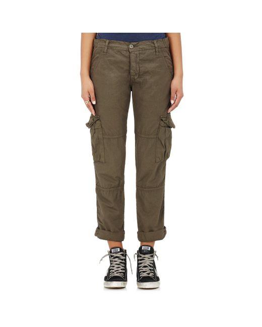 NSF | Green Basquiat Cotton Cargo Pants | Lyst