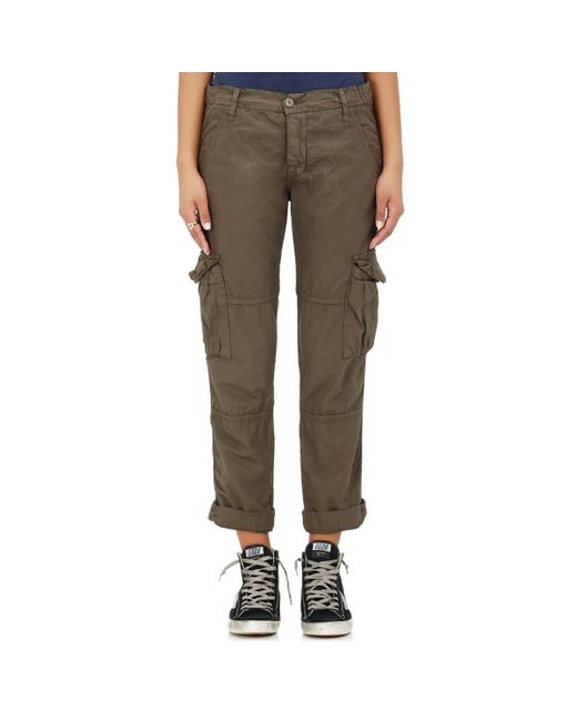 NSF - Green Basquiat Cotton Cargo Pants - Lyst