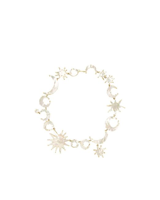 Judy Geib - White Sun- & Moon-link Necklace - Lyst