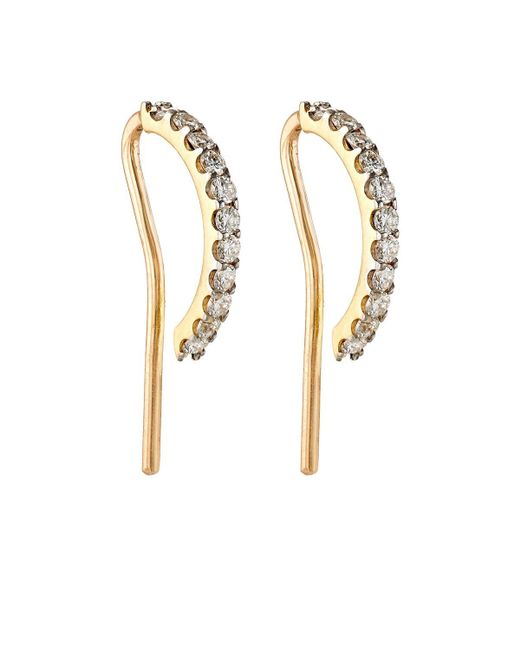 Ana Khouri - Metallic Norah Diamond Earrings - Lyst