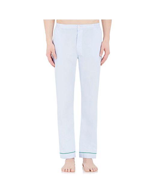 Sleepy Jones - Blue Marcel Pajama Pants for Men - Lyst