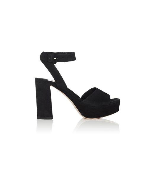 Miu Miu - Black Suede Ankle - Lyst