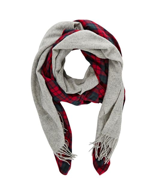 Donni Charm - Red Merge Scarf - Lyst