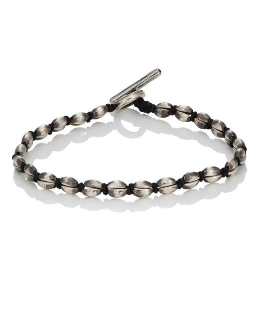 M. Cohen - Black Coffee Bean Bracelet for Men - Lyst