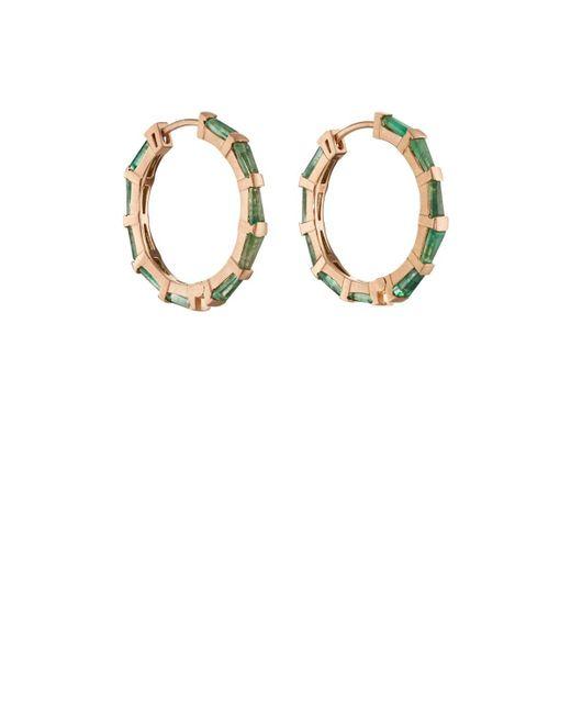 Nak Armstrong - Metallic Hilvanado Stitch Hoop Earrings - Lyst