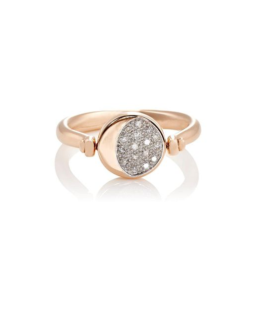 Pamela Love - Metallic Reversible Moon Phase Ring - Lyst
