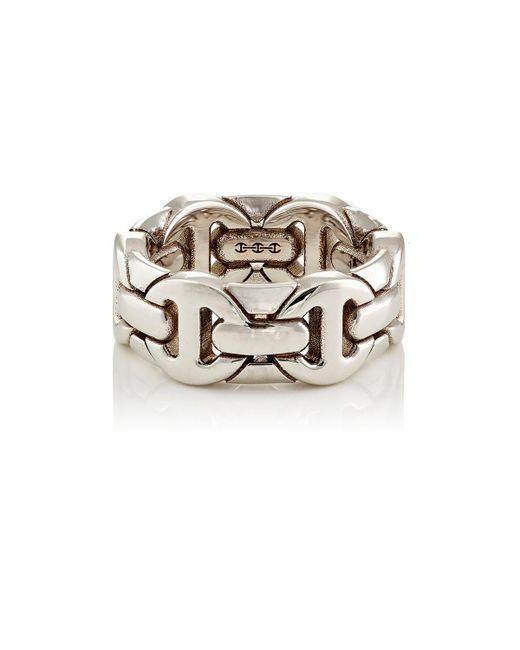 Hoorsenbuhs - Metallic Classic Wall Ring for Men - Lyst