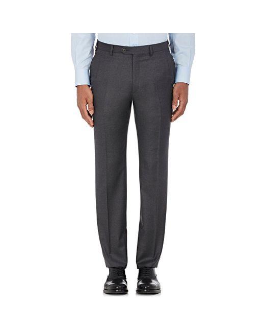 Brioni - Gray Wool Flat for Men - Lyst