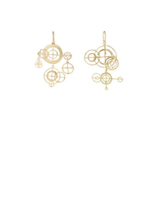 Judy Geib | Metallic Chandelier Earrings | Lyst