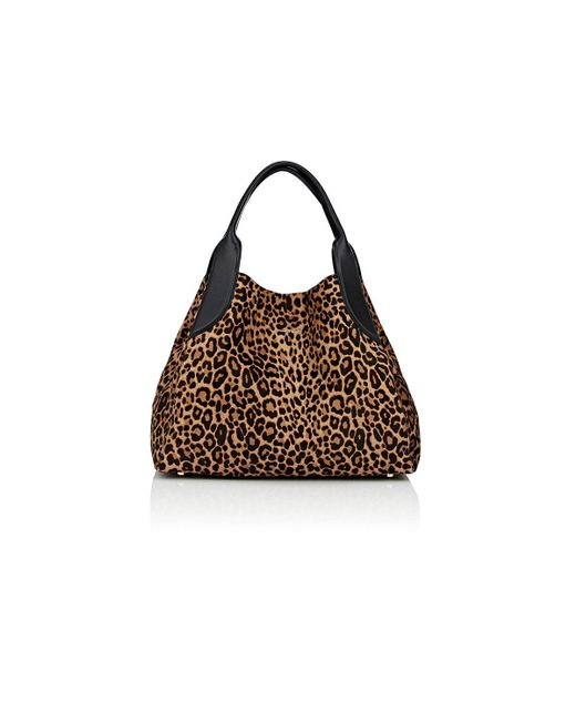 Lanvin - Brown Trapeze Calf Hair Small Tote Bag - Lyst