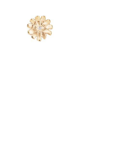 Barneys New York - Metallic Diamond Daisy Stud Earring - Lyst