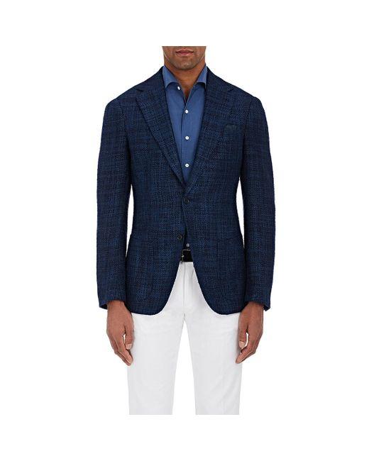 Cifonelli | Blue Montecarlo Silk-cotton Two for Men | Lyst