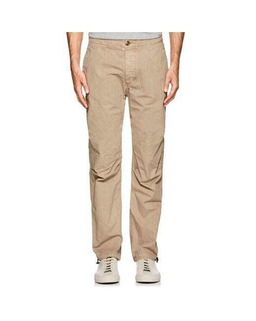 James Perse - Natural Cotton Mountaineering Pants for Men - Lyst
