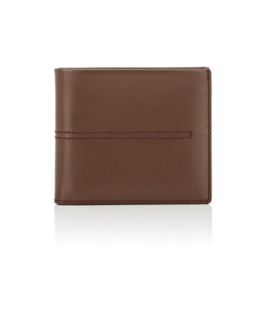 Tod's | Brown Leather Billfold for Men | Lyst