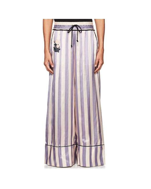 Off-White c/o Virgil Abloh - Multicolor Thedrop@barneys: Striped Satin Wide - Lyst