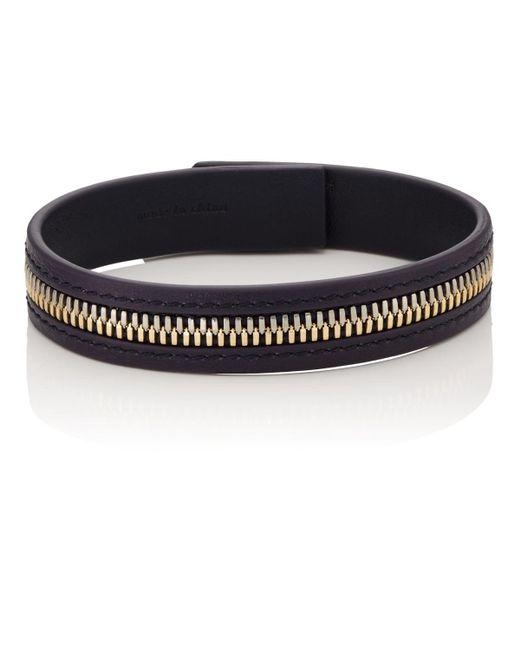 Want Les Essentiels De La Vie - Black Tambo Zip Bracelet for Men - Lyst