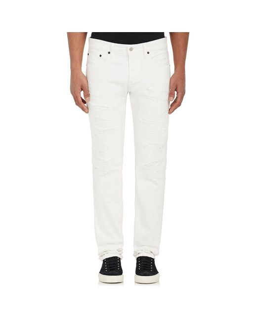 Fabric-Brand & Co. | White Duff Slim Jeans for Men | Lyst