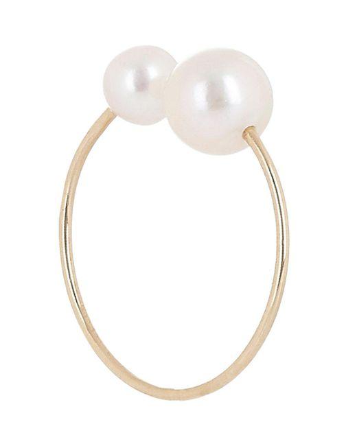 Hirotaka | Metallic Akoya Pearl & Gold Ear Cuff | Lyst