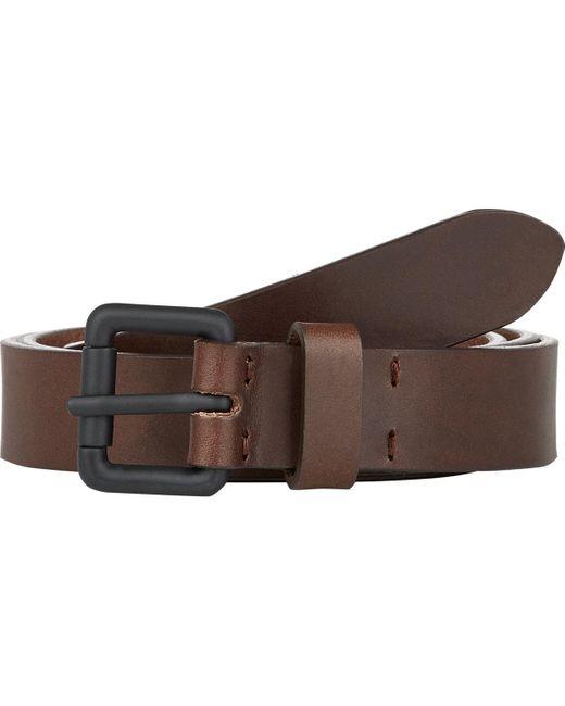 Barneys New York   Brown Leather Belt for Men   Lyst