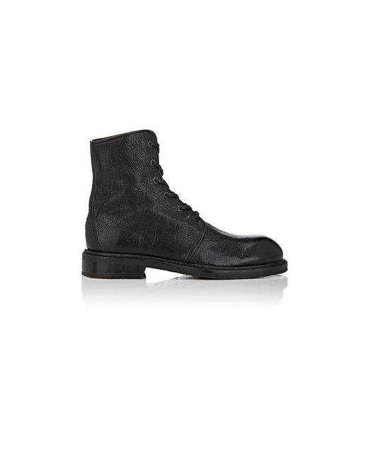 Elia Maurizi | Black Grained Leather Lace for Men | Lyst