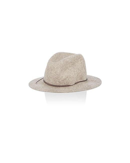 Hat Attack | Multicolor Avery Wool Felt Fedora | Lyst
