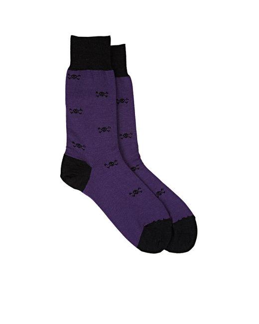 Barneys New York | Purple Skull for Men | Lyst