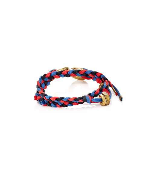 Giles & Brother   Red Braided Cord Double   Lyst