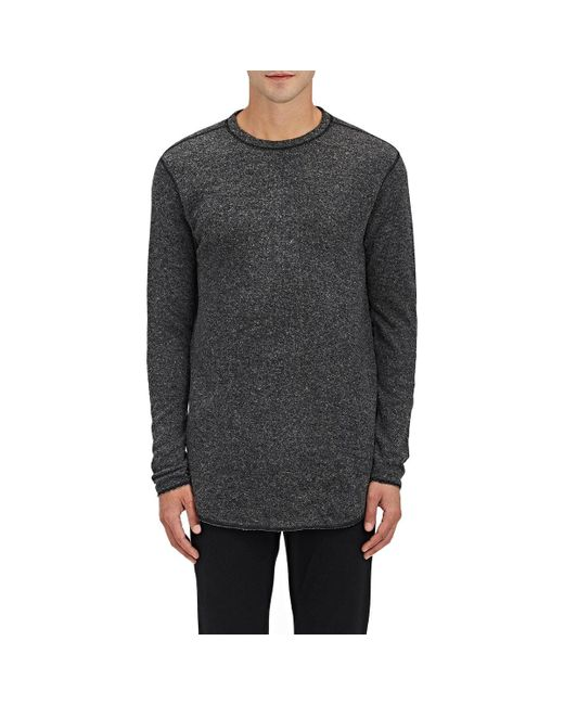 NLST | Gray Heathered Knit Sweatshirt for Men | Lyst