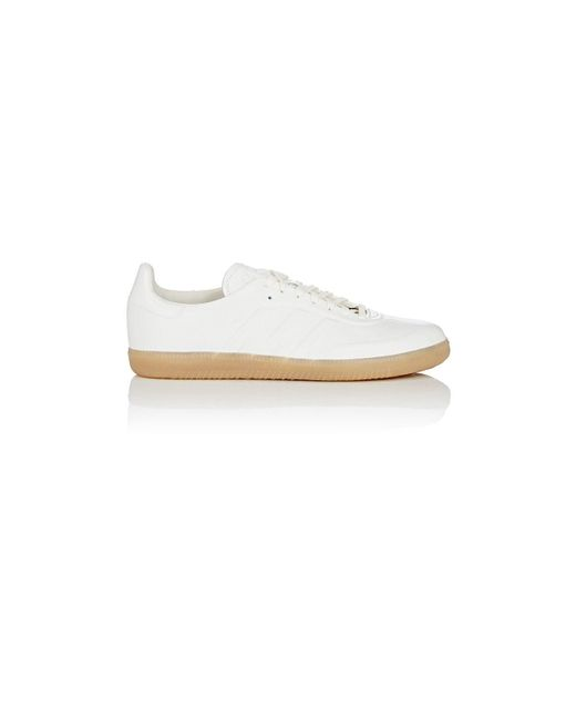 quite nice 325fd 37a92 Adidas - White Samba Leather Sneakers for Men - Lyst ...