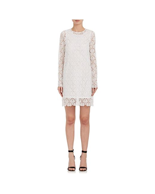 Robert Rodriguez | White Guipure Lace Shift Dress | Lyst
